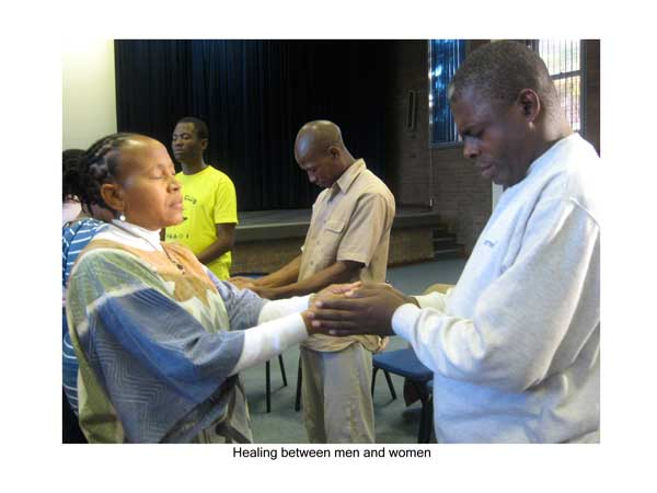 Healing between men and women