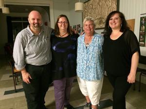 GRI Australian Facilitation Team: William Diplock, Esther Diplock, Judy Bekker, Nina Springle